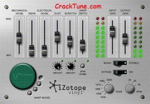 iZotope Vinyl v1.80 Crack VST + Torrent (Mac) Free Download