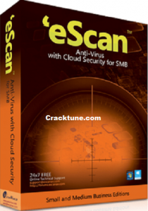 eScan Anti-Virus 14.0.1400.2228 Crack Free License Key (2021)