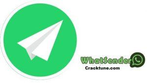WhatSender Pro 6.2 Crack + Keygen [Setup 2021] Free Download